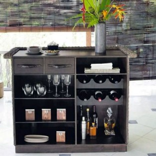Gorgeous Minibar Designs Ideas For Your Kitchen44