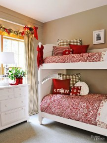 Impressive Christmas Bedding Ideas You Need To Copy21