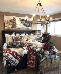 Impressive Christmas Bedding Ideas You Need To Copy28