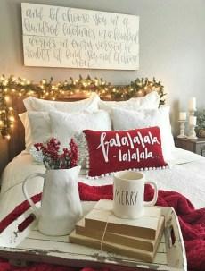 Impressive Christmas Bedding Ideas You Need To Copy30