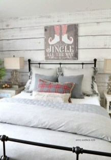 Impressive Christmas Bedding Ideas You Need To Copy38