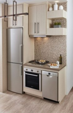 Impressive Minimalist Kitchen Design Ideas For Tiny Houses18