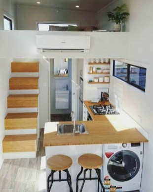Impressive Minimalist Kitchen Design Ideas For Tiny Houses43