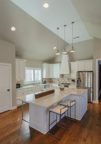 Island Kitchen Design Ideas Attractive For Comfortable Cooking37