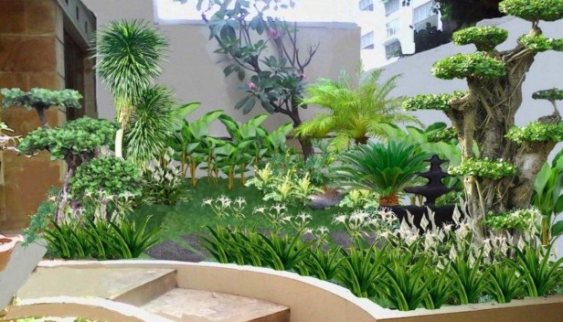 Minimalist Creative Garden Ideas To Enhance Your Small House Beautiful06