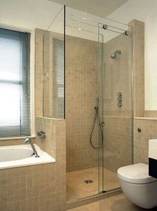 Amazing Small Glass Shower Design Ideas For Relaxing Space04
