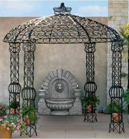 Attractive And Unique Gazebo Ideas That You Must Know25