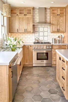 Awesome Farmhouse Kitchen Cabinet Design Ideas You Should Know That07