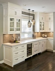 Awesome Farmhouse Kitchen Cabinet Design Ideas You Should Know That10
