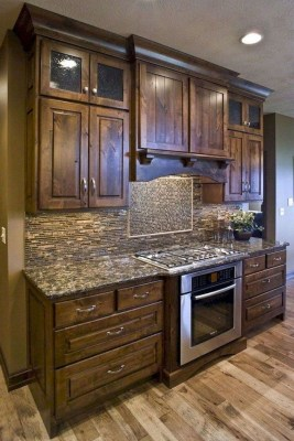 Awesome Farmhouse Kitchen Cabinet Design Ideas You Should Know That17
