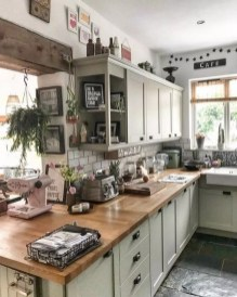 Awesome Farmhouse Kitchen Cabinet Design Ideas You Should Know That32