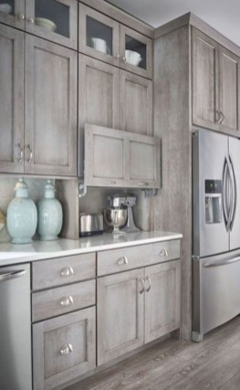Awesome Farmhouse Kitchen Cabinet Design Ideas You Should Know That34
