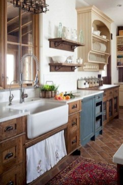 Awesome Farmhouse Kitchen Cabinet Design Ideas You Should Know That42