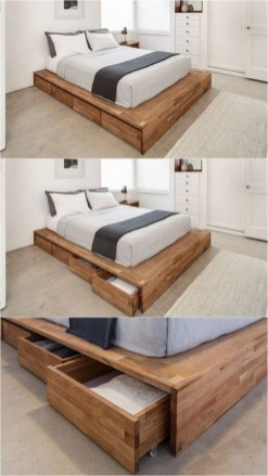 Awesome Storage Design Ideas In Your Bedroom40