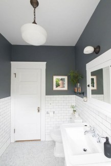 Best Gray And White Bathroom Ideas For29