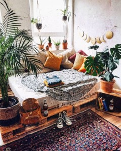 Bohemian Bedroom Decoration Ideas23