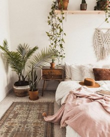 Bohemian Bedroom Decoration Ideas30