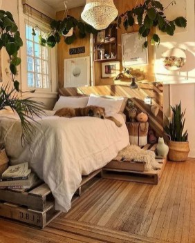Bohemian Bedroom Decoration Ideas34