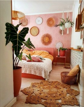 Bohemian Bedroom Decoration Ideas36