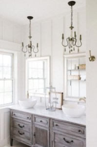 Charming French Country Bathroom Design And Decor Ideas On A Budget04