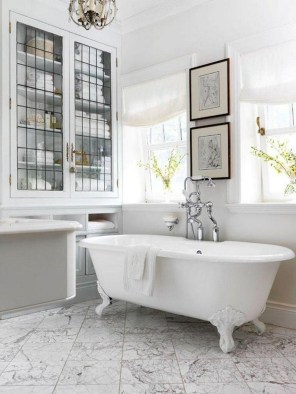 Charming French Country Bathroom Design And Decor Ideas On A Budget07