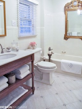 Charming French Country Bathroom Design And Decor Ideas On A Budget17