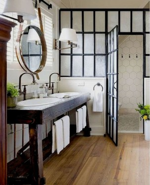 Charming French Country Bathroom Design And Decor Ideas On A Budget35