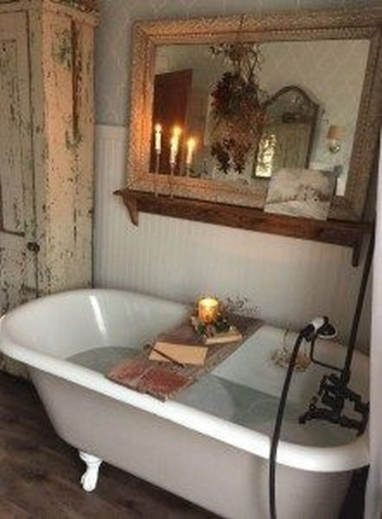 Charming French Country Bathroom Design And Decor Ideas On A Budget43