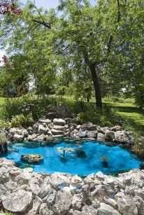 Fabulous Fish Pond Design Ideas For Your Home Yard01