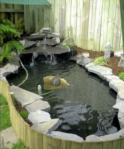 Fabulous Fish Pond Design Ideas For Your Home Yard11