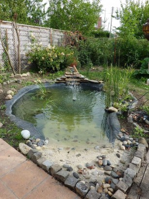 Fabulous Fish Pond Design Ideas For Your Home Yard24
