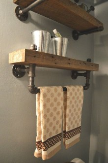 Industrial Bathroom Shelves Design Ideas01