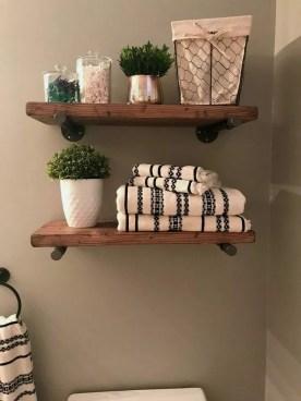 Industrial Bathroom Shelves Design Ideas15