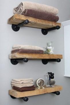 Industrial Bathroom Shelves Design Ideas17