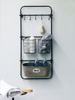 Industrial Bathroom Shelves Design Ideas21