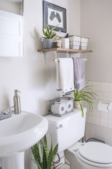 Industrial Bathroom Shelves Design Ideas32