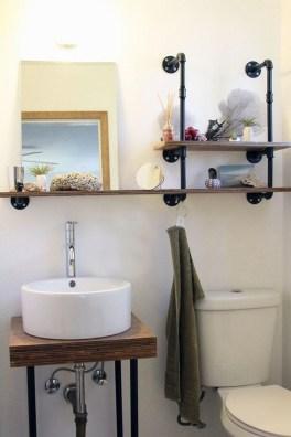 Industrial Bathroom Shelves Design Ideas33