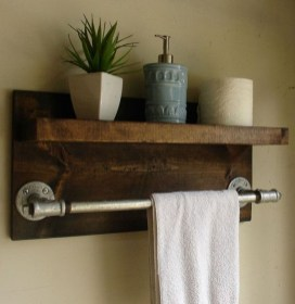 Industrial Bathroom Shelves Design Ideas41