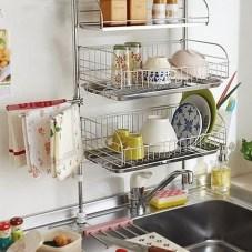 Lovely Kitchen Rack Design Ideas For Smart Mother11