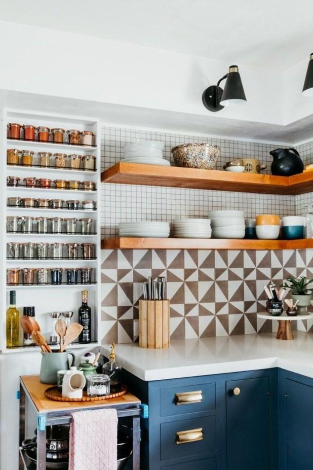 Lovely Kitchen Rack Design Ideas For Smart Mother46