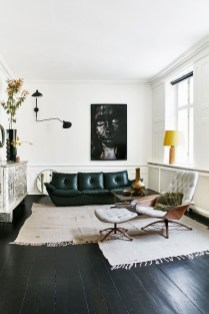 Luxury Black Leather Living Room Sofa Ideas For Comfortable Living Room05
