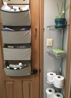 Simple Rv Camper Storage Design Ideas For Your Travel16