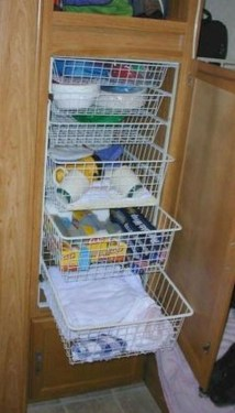 Simple Rv Camper Storage Design Ideas For Your Travel18