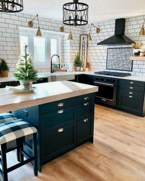 Wonderful Blue Kitchen Design Ideas06