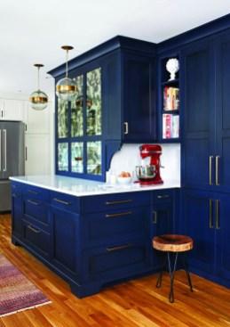 Wonderful Blue Kitchen Design Ideas15