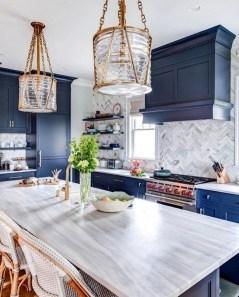 Wonderful Blue Kitchen Design Ideas19