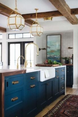 Wonderful Blue Kitchen Design Ideas27