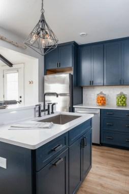 Wonderful Blue Kitchen Design Ideas33