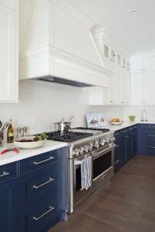 Wonderful Blue Kitchen Design Ideas38