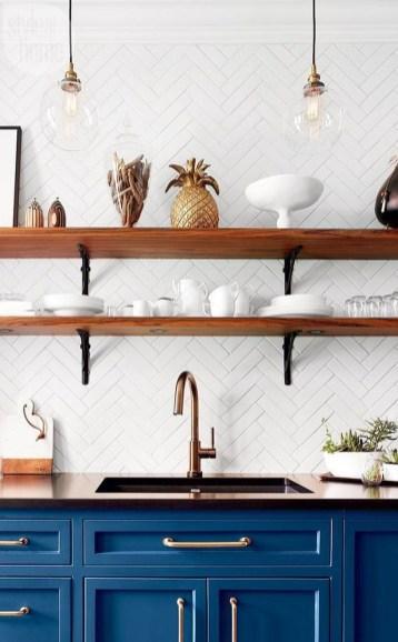 Wonderful Blue Kitchen Design Ideas42